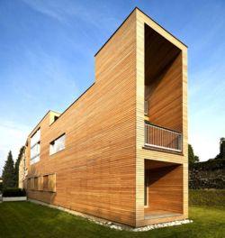 bardage bois blanc en clin horizontal sur maison bardage en bois sur villas with bardage claire. Black Bedroom Furniture Sets. Home Design Ideas